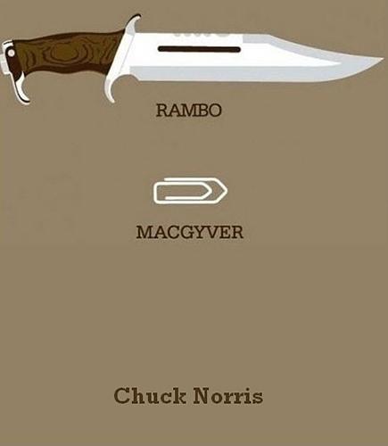 Tickled #101: Rambo Macgyver Chuck Norris Joke