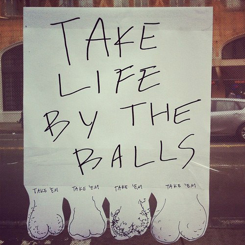 Tickled #120: Funny Take Life By The Balls Tear Out