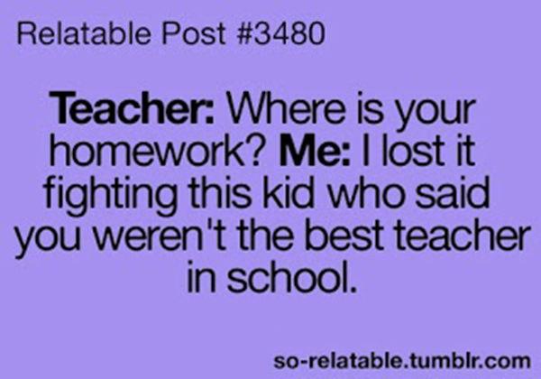 Tickled #127: Teacher Joke
