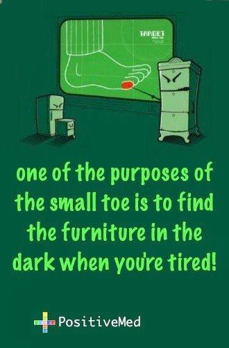 Tickled #147: Small Toe Joke