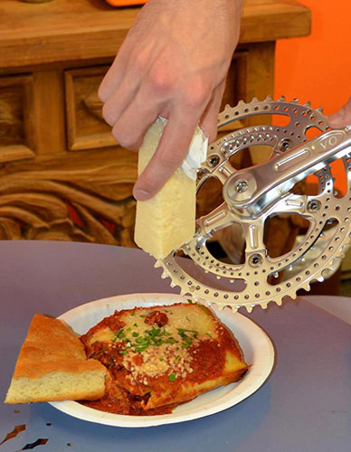 Tickled #159: Bicycle Gear Cheese Grater