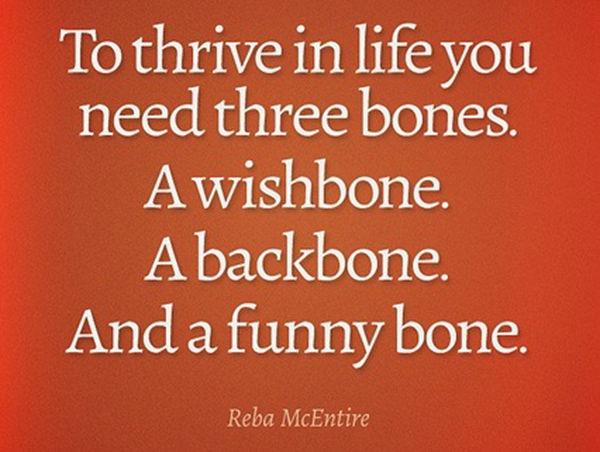 Tickled #185: Wishbone. Backbone. Funny bone.