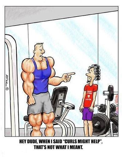 Tickled #197: Gym Humor