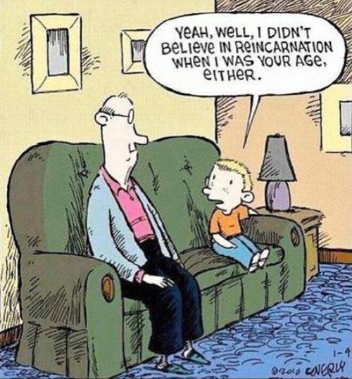 Tickled #212: Reincarnation Humor