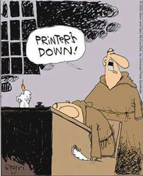 Tickled #226: Printer's Down.