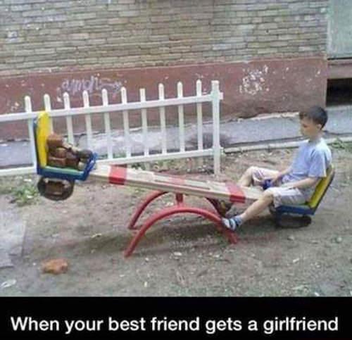Tickled #228: When your bestfriend gets a girlfriend.