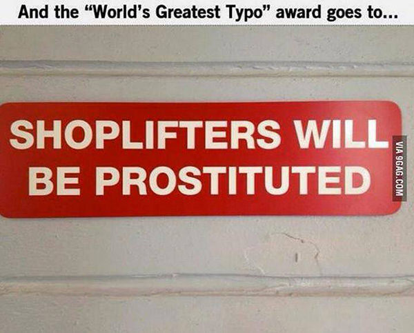 Tickled #230: Shoplifters Will Be Prostituted.