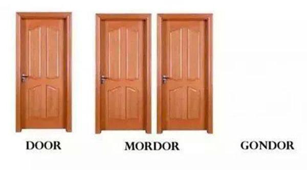 Tickled #262: Door. Mordor. Gondor.