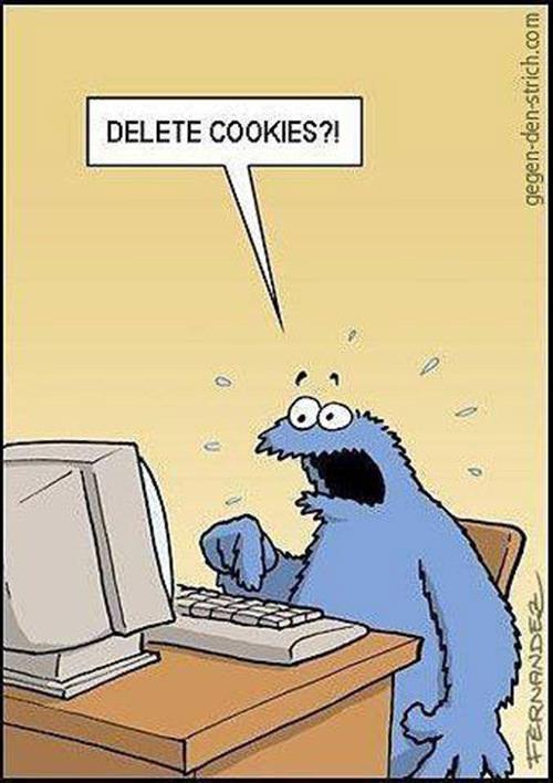 Tickled #263: Delete Cookies Cartoon