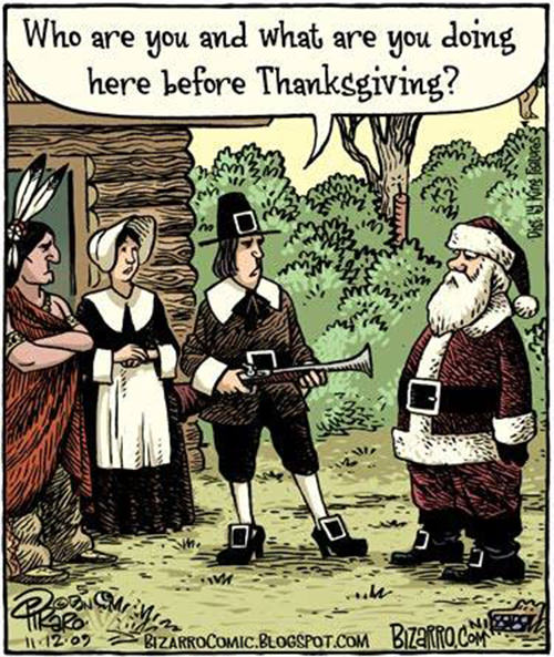 Tickled #276: Funny Christmas and Thanksgiving Cartoon