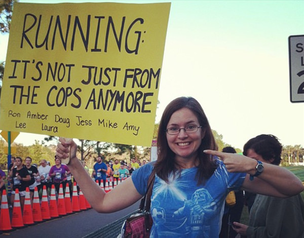 Tickled #308: Funny Running Race Signs
