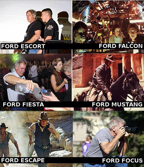 Tickled #328: Harrison Ford Humor