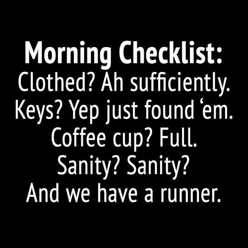 Tickled #344: Morning Checklist