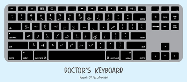 Tickled #372: Doctor's Keyboard