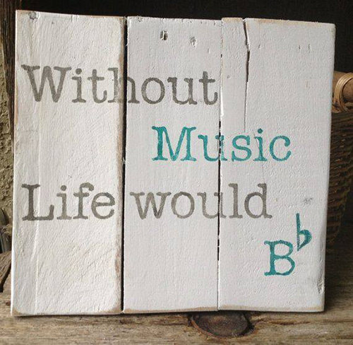 Tickled #386: Without music, life would B Flat