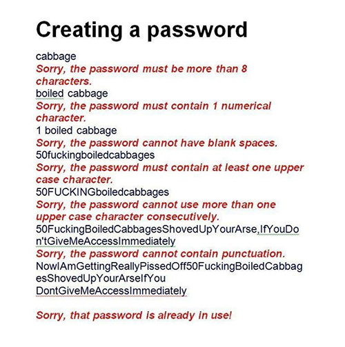 Tickled #435: Creating A Password