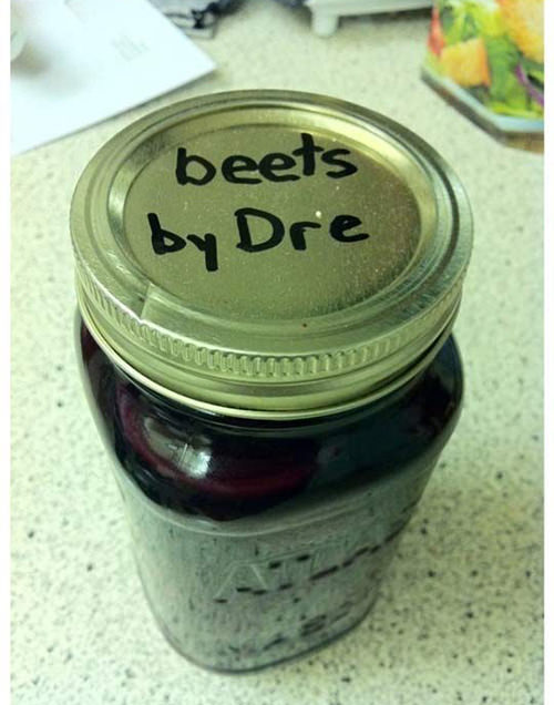 Tickled #480: Beets by Dre.