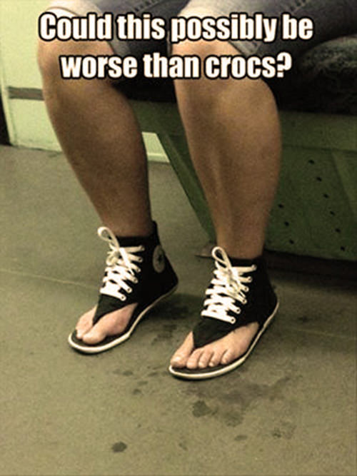 Tickled #514: Could this possibly be worse than crocs?