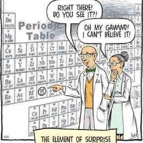Tickled #544: The element of surprise.