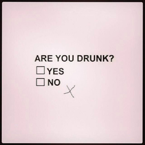 Tickled #604: Are you drunk?