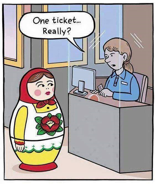 Tickled #680: One ticket... Really?