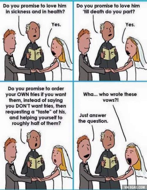 Tickled #685: Wedding Vows